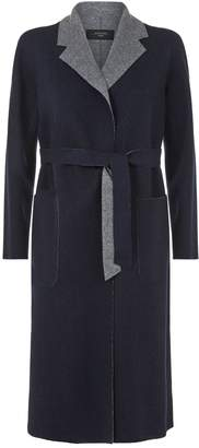 Max Mara Reversible Wool Wrap Coat
