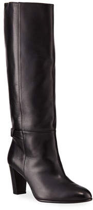 Alexandre Birman Rachel Leather Knee Boots