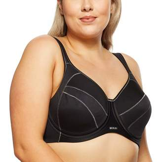 Berlei Y533WB Full Support Urban Escape Black Non-Padded Wired Sports Bra
