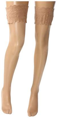 Wolford Satin Touch 20 Stay-Up Thigh Highs Women's Thigh High Socks Shoes