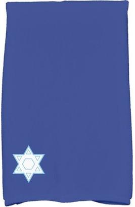 Holiday Essence Star's Corner Geometric Print Hand Towel