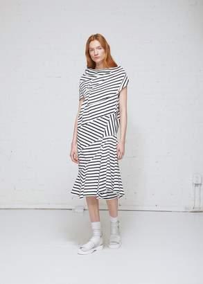 Junya Watanabe Striped Maxi Dress