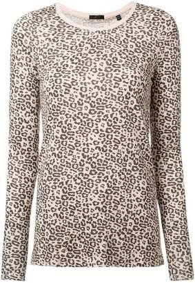 ATM Anthony Thomas Melillo leopard print jersey