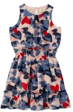 Kate Spade Girl's Confetti Heart Dress