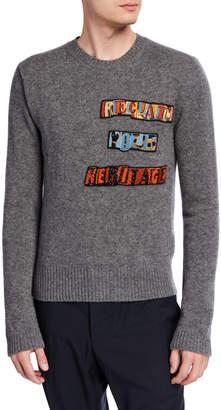 Valentino Men's Crewneck Sweater