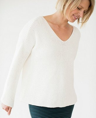 Women Honeycomb Stitch Sweater $98 thestylecure.com