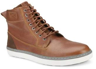 Reserved Footwear Topstitch High Top Sneaker