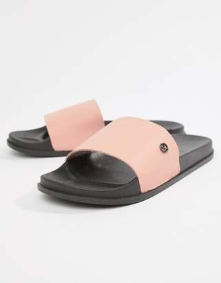 KG by Kurt Geiger KG Kurt Geiger Slider Flip Flops In Pink