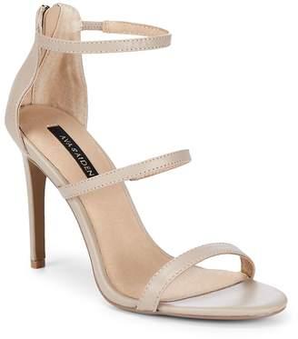 Ava & Aiden Women's Leather Stiletto Heel Sandals