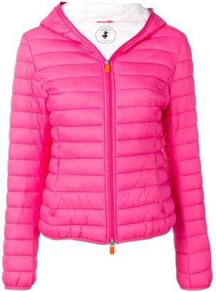 Save The Duck classic padded jacket with hood