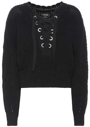 Isabel Marant Laley lace-up sweater