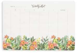 Rifle Paper Co. Honey Dew Weekly Desk Pad