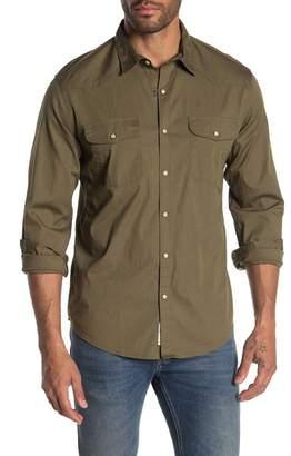 Lucky Brand Santa Fe Western Long Sleeve Classic Fit Shirt