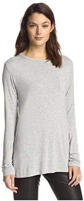 James & Erin Women's Crew Neck Top