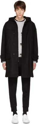 Neil Barrett Black Wool Parka