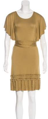 LaROK Accented Knee-Length Dress