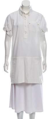 Louis Vuitton Short Sleeve Button-Up Top