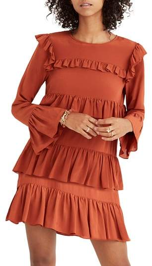 Madewell Waterlily Ruffle Dress