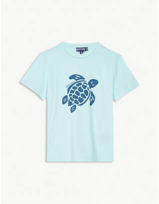 Vilebrequin Turtle print cotton T-shirt 4-14 years