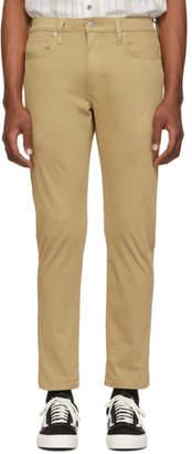 Levi's Levis Tan Stretch Hi-Ball Roll Jeans