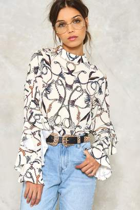 Nasty Gal Rope for the Best Blouse