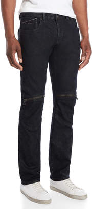 Cult of Individuality Greaser Moto Tapered Jeans