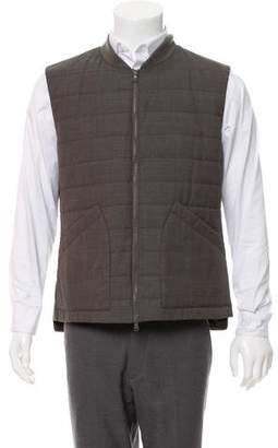 Brunello Cucinelli Quilted Wool Vest