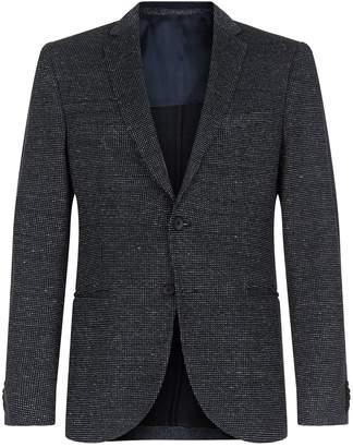 HUGO BOSS Cotton-Linen Woven Blazer