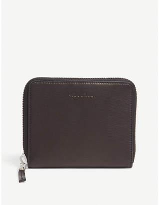 Rick Owens Zip-around leather wallet