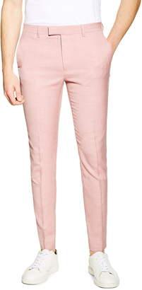 Topman Skinny Fit Suit Dress Pants