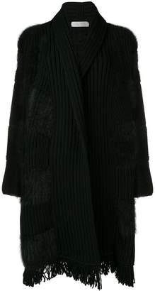 Cruciani ribbed knit cardigan