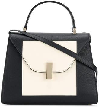 Valextra colour block shoulder bag