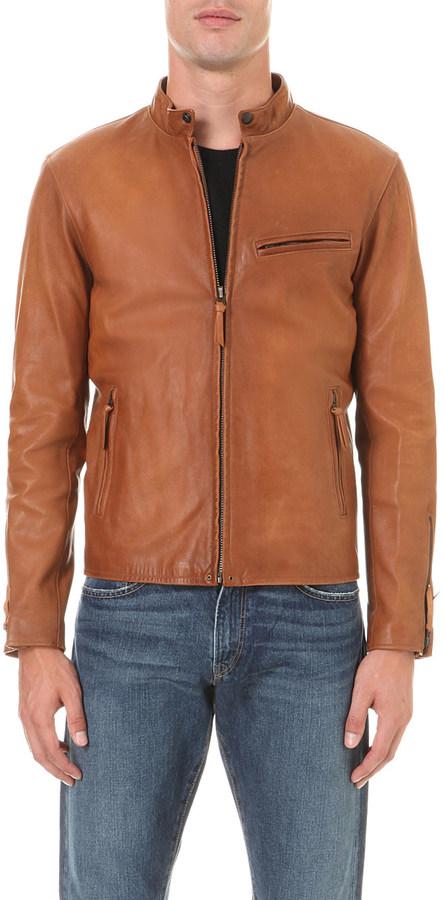 Polo Ralph LaurenPolo Ralph Lauren Zip-up leather jacket