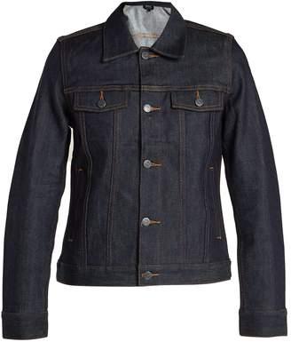 A.P.C. Brandy raw-denim jacket