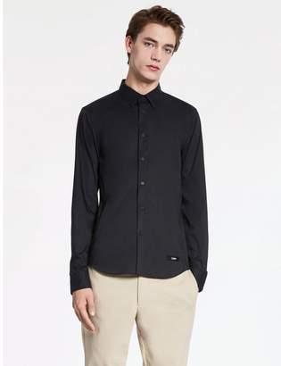 Calvin Klein fine stretch poplin shirt