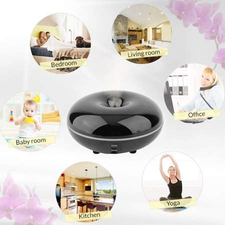 OUTAD Essential Oil Ultrasonic Aroma Diffuser Humidifier Colorful Air Purifier For Office Bedroom Baby Room Study Yoga