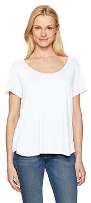 NYDJ Women's Scoop Neck Jersey T-Shirt