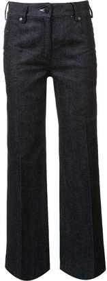 Calvin Klein flared denim trousers