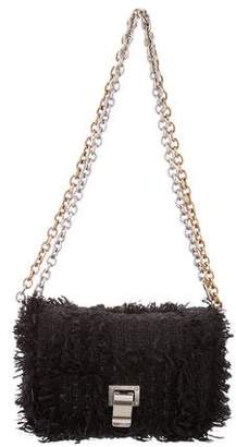 Proenza Schouler Courier Frayed Crossbody Bag