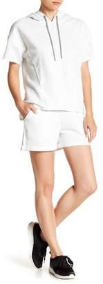 Andrew Marc Stripe Print Knit Shorts