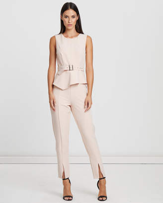 Liberty Belted Jumpsuit