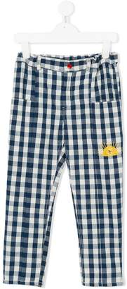 Bobo Choses Vichy gingham check trousers