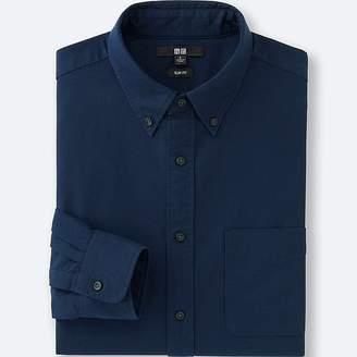 UNIQLO Men's Oxford Slim Fit Long Sleeve Shirt $29.90 thestylecure.com