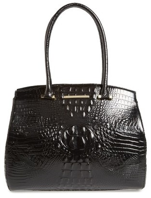 Brahmin Melbourne Alice Leather Tote - Black $345 thestylecure.com