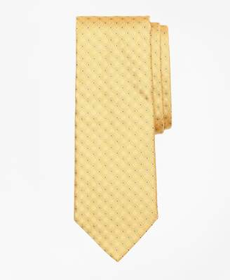 Brooks Brothers Dotted Flower and Diamond Tie
