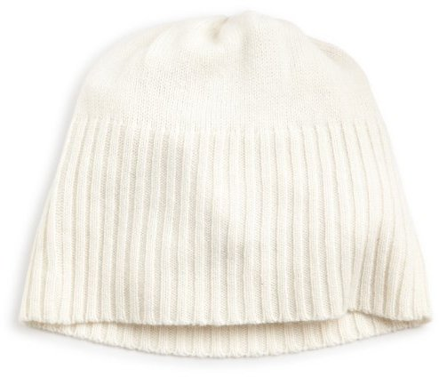 Collection XIIX 100% Cashmere Women's Solid Rib Hat