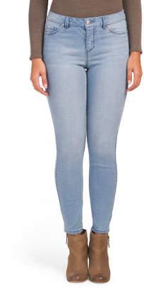 Juniors High Waist Ankle Jeans