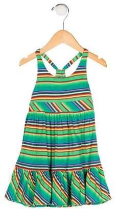 Ralph Lauren Girls' Striped Knit Dress
