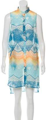 Mara Hoffman Printed Sleeveless Cover-Up