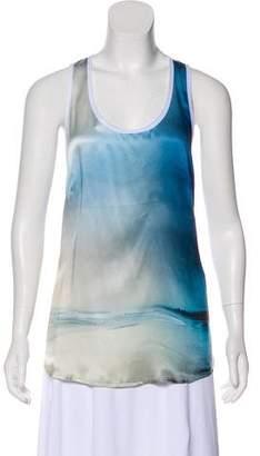 Barbara Bui Sleeveless Silk Top